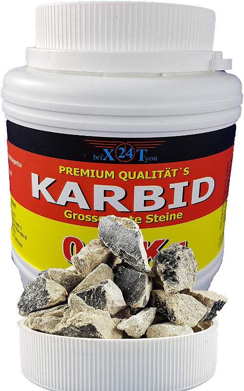 Barbid-Steine zur Maulwurfbekämpfung